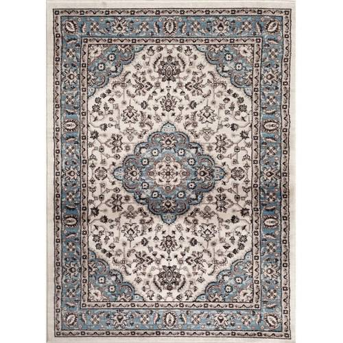 World Rug Gallery Traditional Oriental Medallion Design Indoor Area Rug