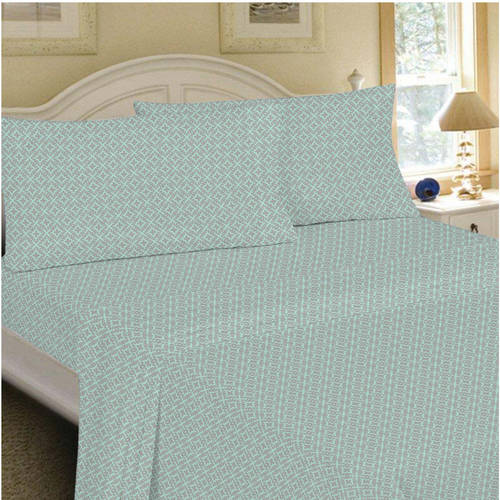 Mainstays 200 Thread Count King Fitted Sheet Collection, 1 (The King Shits And The Hand Wipes)