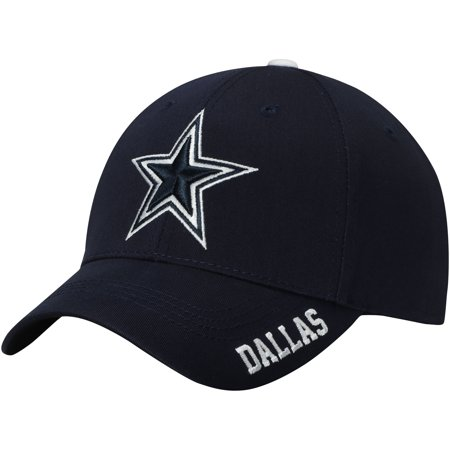 Men's Navy Dallas Cowboys Kingman Adjustable Hat - OSFA - Dallas Cowboys Helment