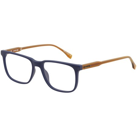 Lacoste Men's Eyeglasses L2810 L/2810 424 Matte Blue Full Rim Optical Frame (Men's Optical Frames)