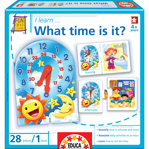 Educa What Time Is It? Game