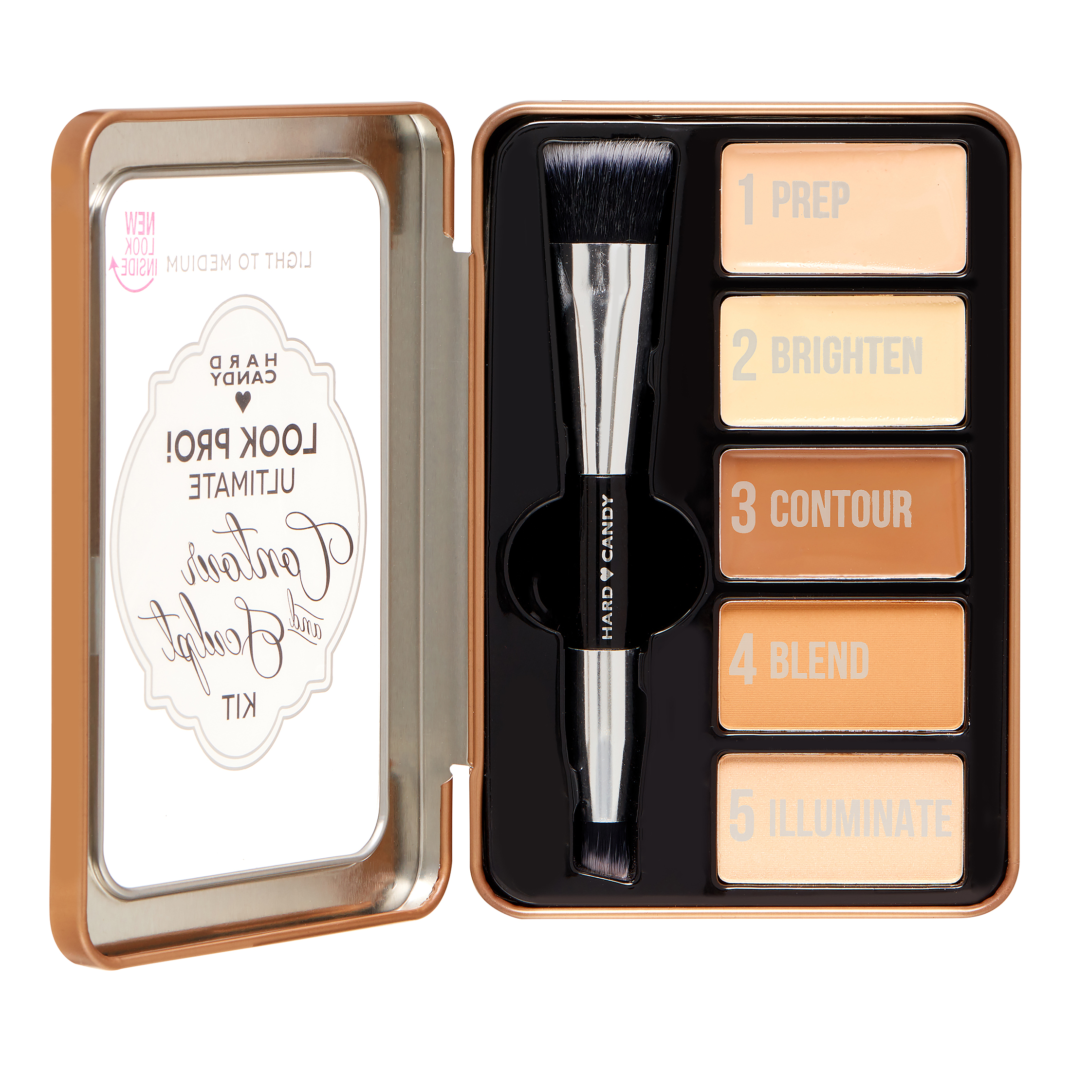 Hard Candy Look Pro! Ultimate Kit, 1099 Light-Med, 0.33 oz