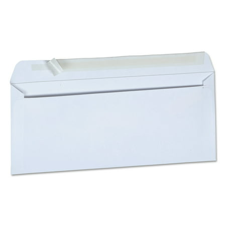 Office Impressions #10 Peel & Seal Business Envelopes, White, 500/Box - Girl Envelope Seals