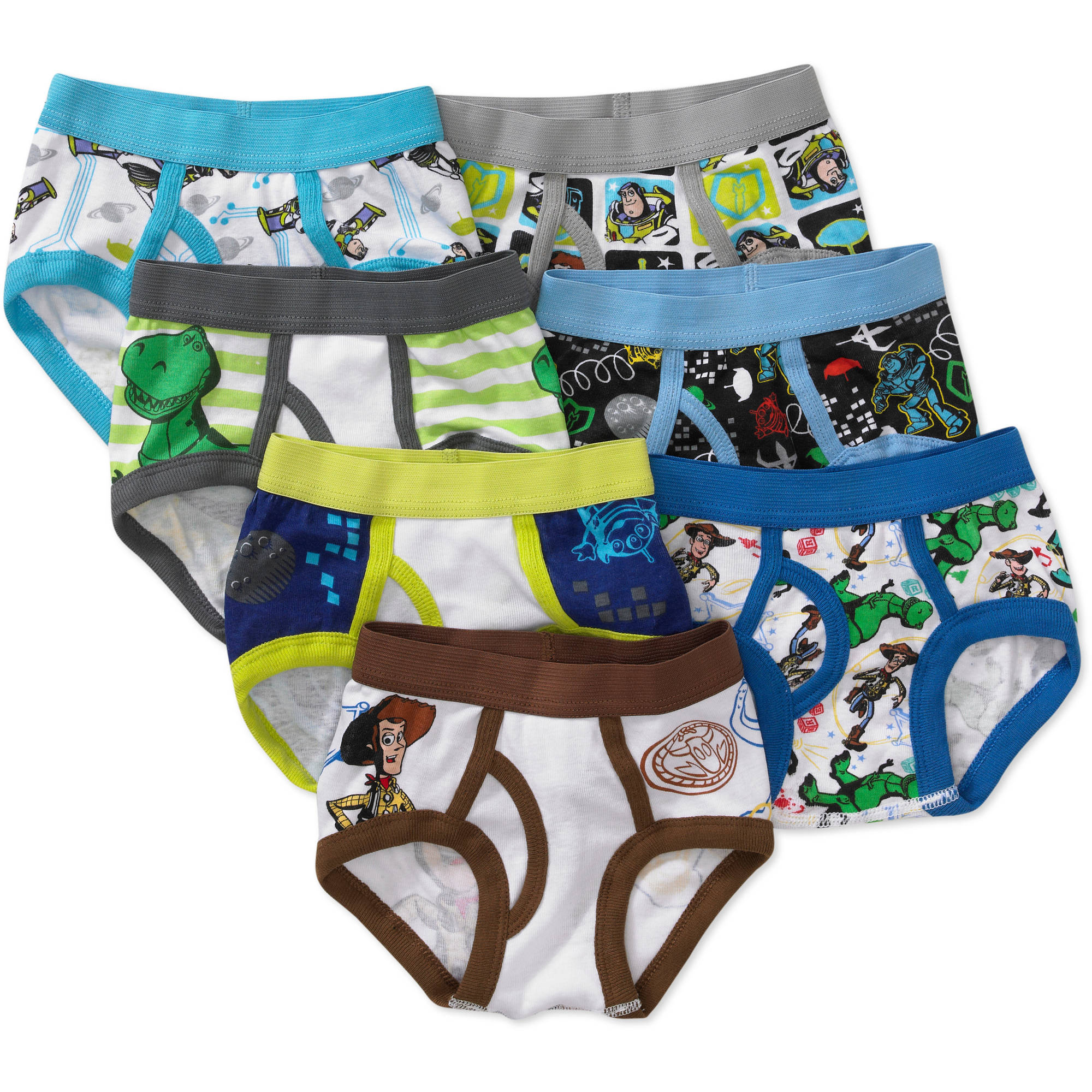 Disney Toddler Boys' Toy Story Favorite Characters Underwear, 7-Pack