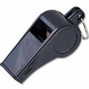 MacGregor Economy Black Plastic Whistle, 1 Dozen