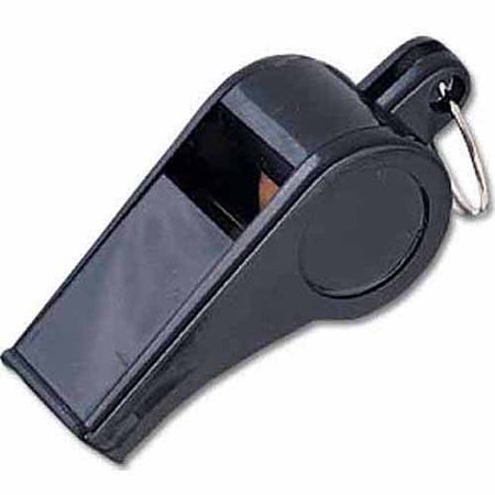 Bosuns Whistle (MacGregor Economy Black Plastic Whistle, 1 Dozen )