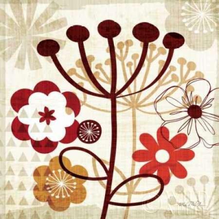 Floral Pop Iii Poster Print By Michael Mullan