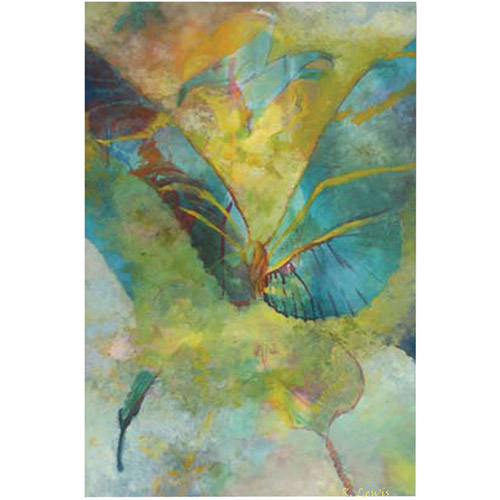 "Trademark Fine Art ""Butterflight"" Canvas Art by Rickey Lewis"