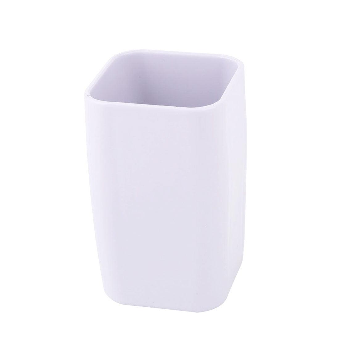 Bathroom Plastic Toothbrush Holder Tooth Cleaning Mug Cup Light Purple 300ml - image 4 of 4