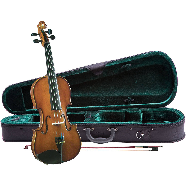 Cremona SV-130 Premier Novice Violin Outfit 1 4 Size by Cremona