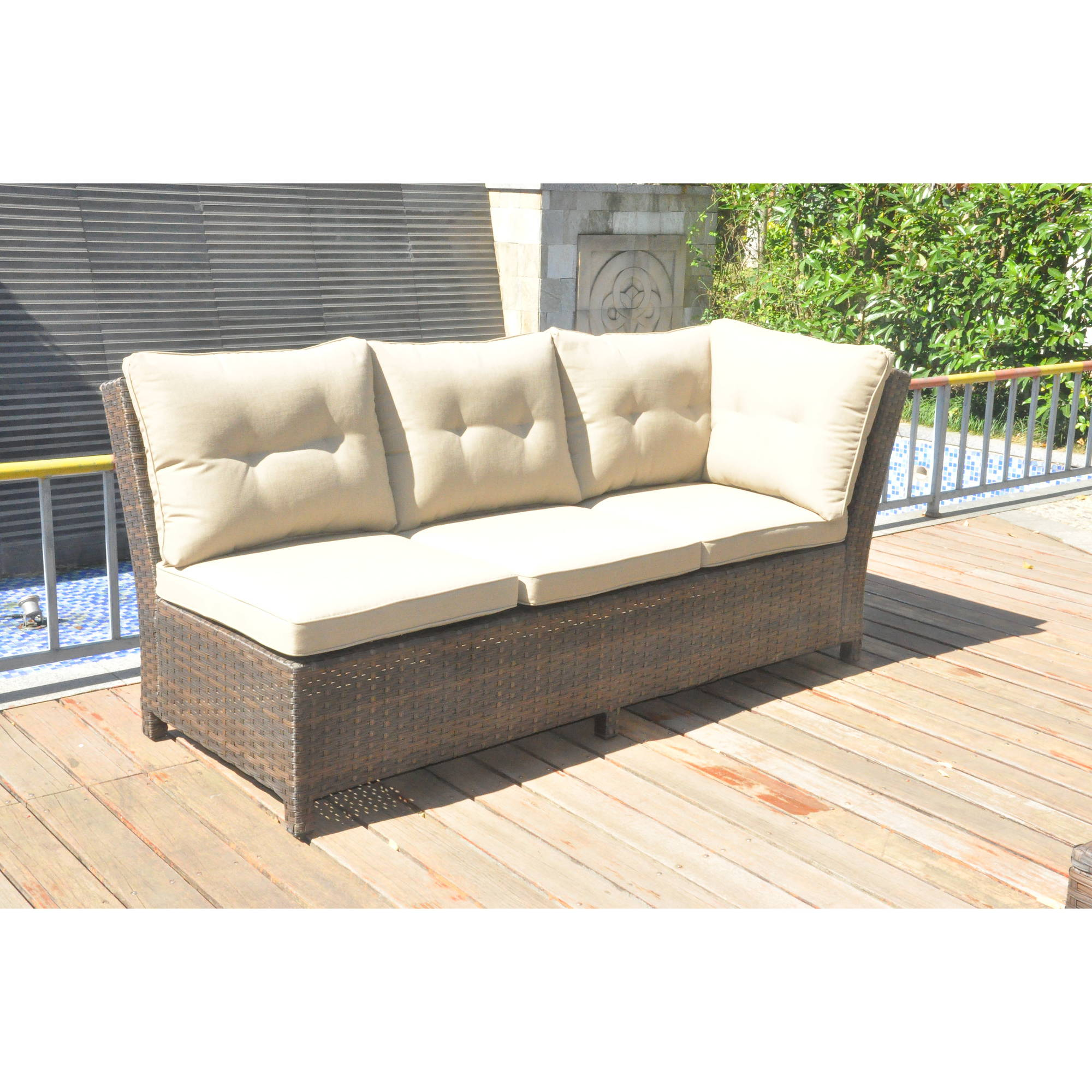 Enjoyable Better Homes And Gardens Baytown 5 Piece Woven Sectional Sofa Set Seats 5 Uwap Interior Chair Design Uwaporg