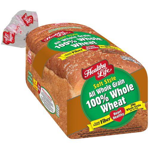Healthy Life Soft Style 100% Whole Grain Bread, 20 oz