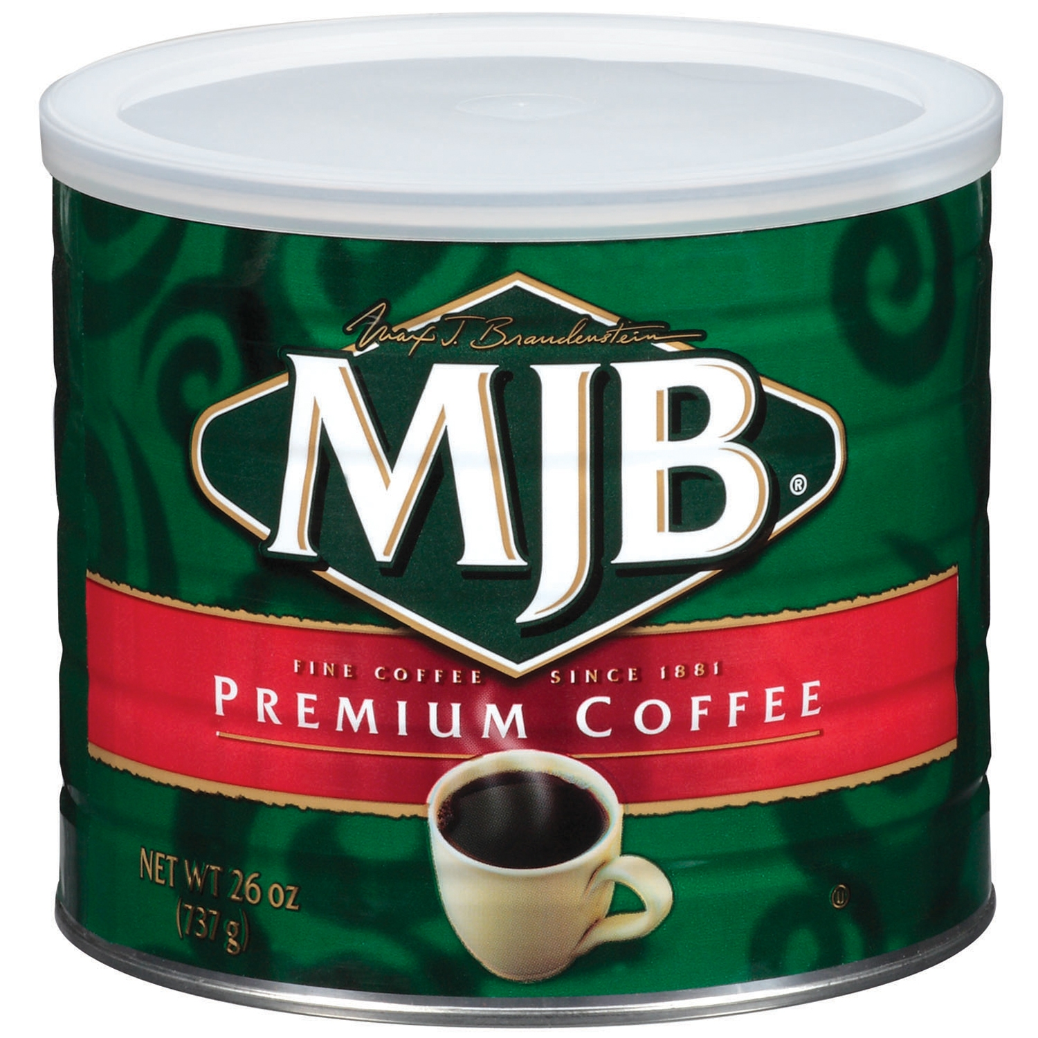 MJB Premium Ground Coffee, 26 oz Can