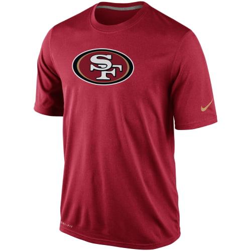 San Francisco 49ers Nike Legend Logo Essential 2 Performance T-Shirt - Scarlet - S
