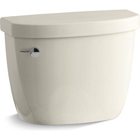 Kohler K-4421-47 Comfort Height Toilet Tank Only 1.6 GPF Almond