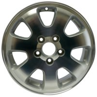 Aftermarket 2002-2004 Honda Odyssey  16x6.5 Alloy Wheel, Rim Sparkle Silver Textured with Machined Face - 63839
