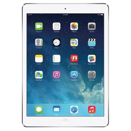 Certified refurbished Grade A Apple iPad mini with Wi-Fi + Cellular for AT&T 16GB - White & Silver