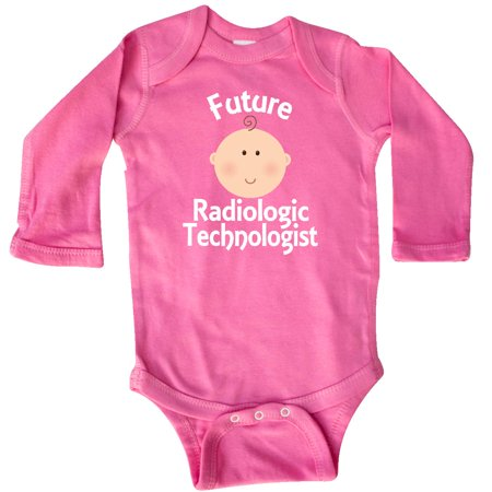 Inktastic Future Radiologic Technologist Occupation Gift Long Sleeve Creeper Job