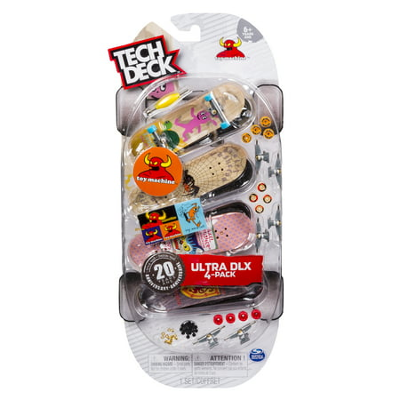 Tech Deck - 96mm Fingerboards - 4-Pack – Toy Machine ()