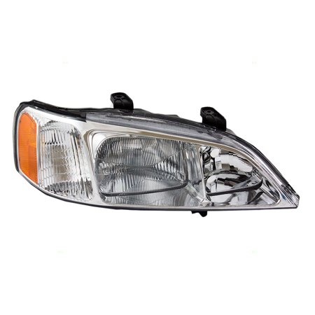 BROCK HID Combination Headlight Headlamp Passenger Replacement fits 99-01 Acura TL (with pre-installed HID Lighting)