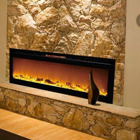 Gibson Living Reno Log Wall Mount Electric Fireplace