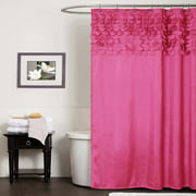 Pale Pink Shower Curtain. Lillian Shower Curtain Pink Curtains  Walmart com