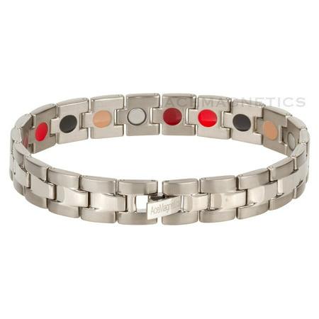 HypoAllergenic Titanium Magnetic Bracelet Style # 62TG With