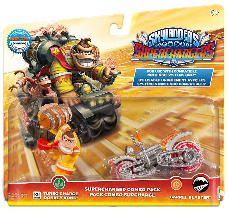 Skylanders Superchargers Supercharged Combo Pack - Donkey Kong (Universal) 047875877443
