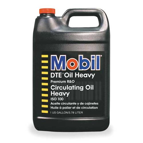 MOBIL Mobil DTE Heavy, ISO 100, 1 gal., 100544