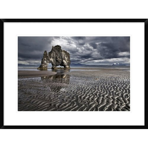 Global Gallery 'Hvatserkur' by Bragi Ingibergsson Framed Photographic Print