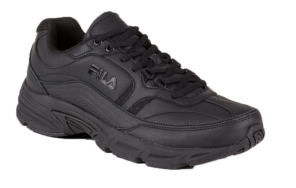Fila Mens Memory Workshift SR, Black Black Black, 10.5 4E by Fila