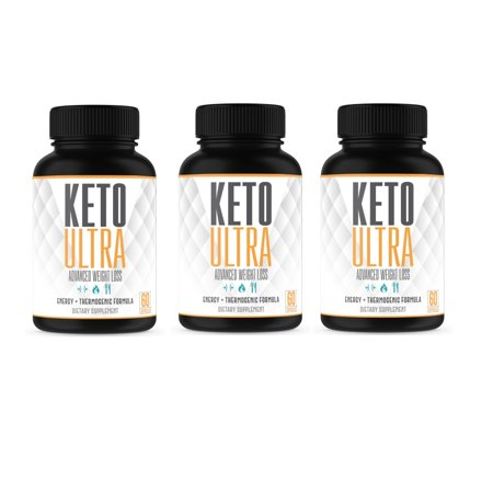 Keto Ultra – Powerful Keto Diet Pills –– Supports Weight Loss, Fat Burn, Energy & Focus – Built for the Keto Diet – Great for Keto Beginners – 3 Month – Made in the