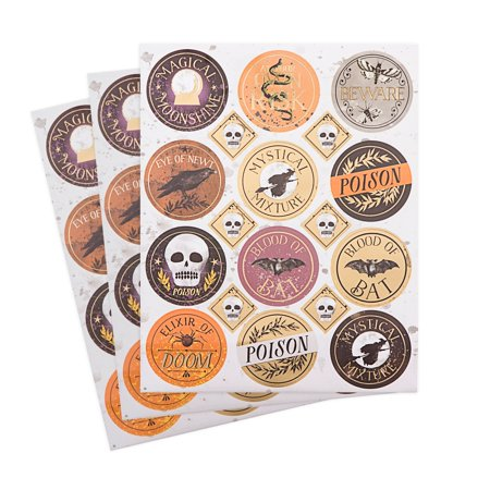 Darice Martha Stewart Crafts Halloween Stickers Assorted Styles - Martha Stewart Halloween