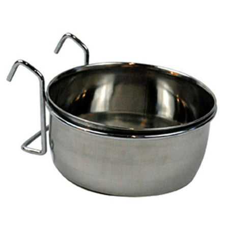 90448 3 Cup Stainless Steel Kennel Bowl