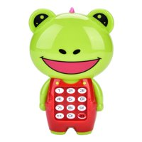 OTVIAP Children's cute Animal Musical Simulation Multifunctional Cell Phone Hanging Bed Bell Baby, Multifunctional Cell Phone,  Cell Phone Toy