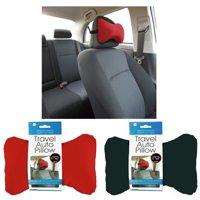 AllTopBargains 2PC Car Travel Auto Headrest Neck Seat Cushion Support Pillow Rest Sleep Comfort
