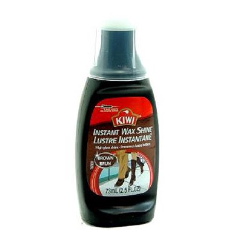 Kiwi Liq Shoe Polish Brwn 2.5 Oz -Bottle - 1 count only