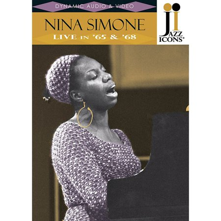 Jazz Icons Nina Simone - Live in '65 & '68 (Jazz Icons DVD) Live/DVD Series DVD Performed by Nina