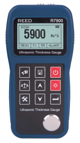 REED Instruments R7900 Ultrasonic Thickness Gauge by REED INSTRUMENTS