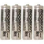 Moonrays Rechargeable Nicd Aaa Batteries For Solar Powered