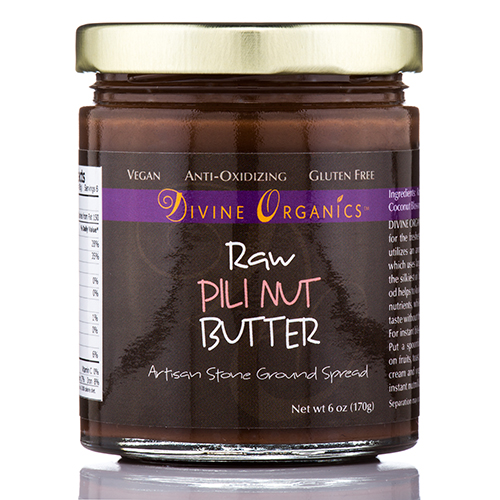 Pili Nut Butter - 6 oz (170 Grams) by Divine Organics