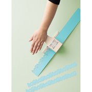 Martha Stewart Crafts 2-in-1 Deep Edge Paper Punch, Zinnia Multi-Colored