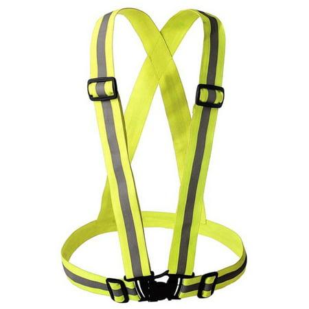 Hi Visibility Vest (Tinymills Hi-Vis High Visibility Safety Reflective Vest Belt For Night Running )
