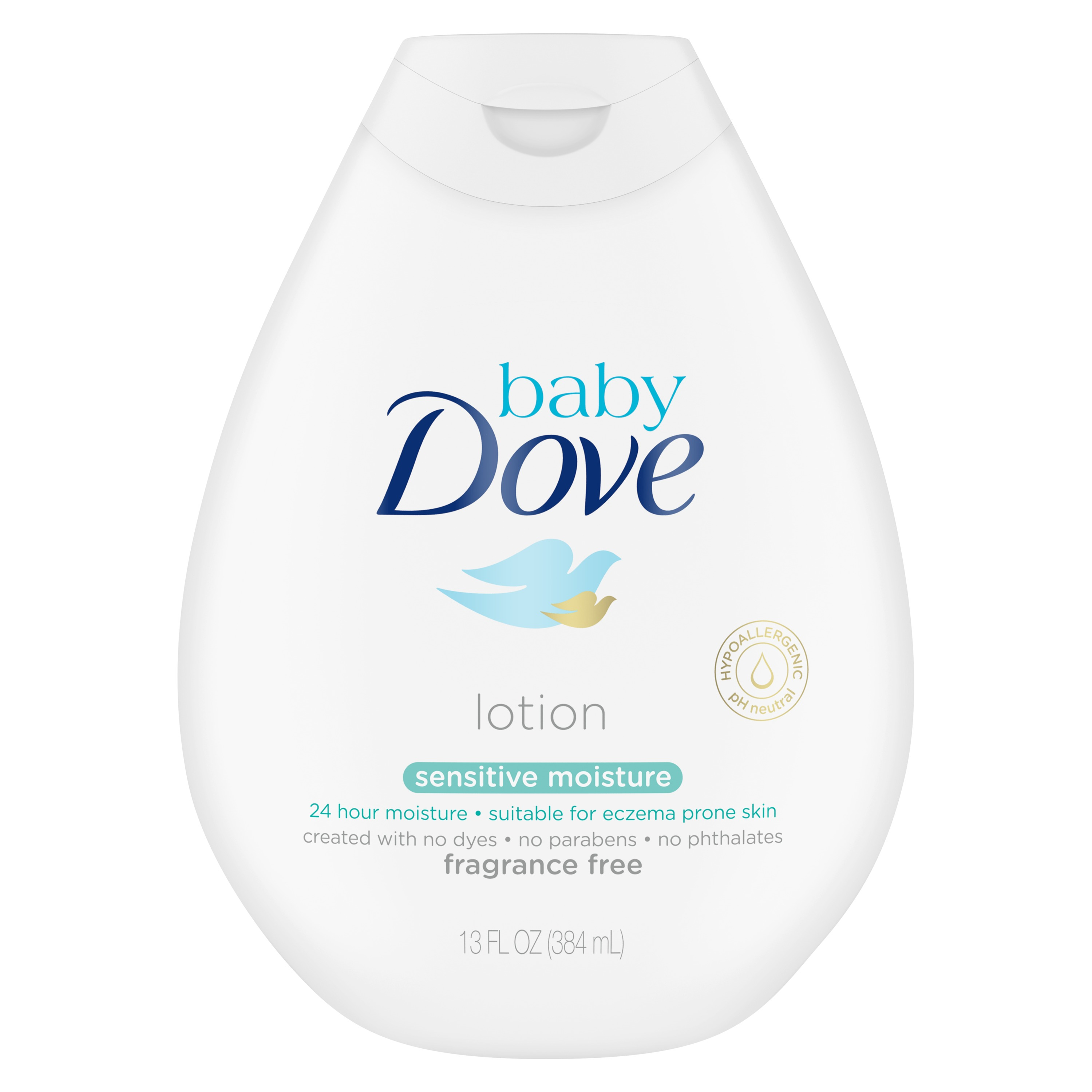 Baby Dove Sensitive Moisture Baby Lotion, 13 oz