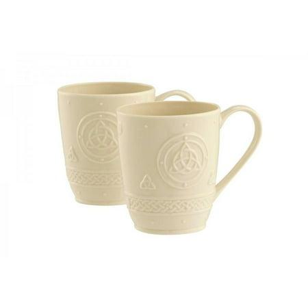 Belleek Set (Belleek Celtic Mugs (Set of 2) )