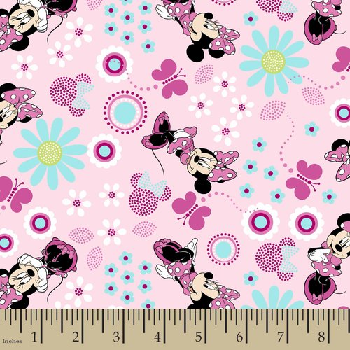 Disney Minnie Mouse Fabric by the Yard