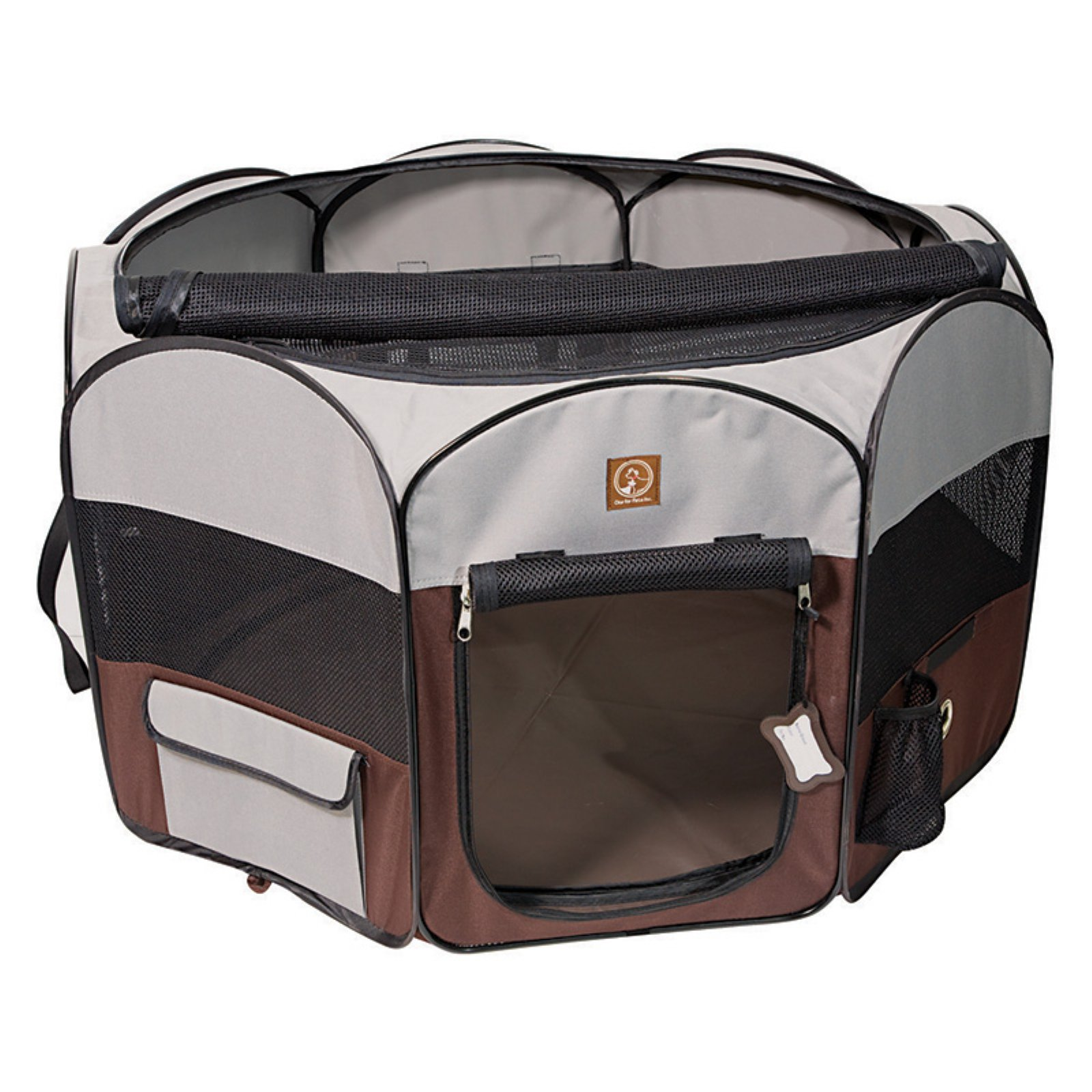 One For Pets Fabric Portable Playpen