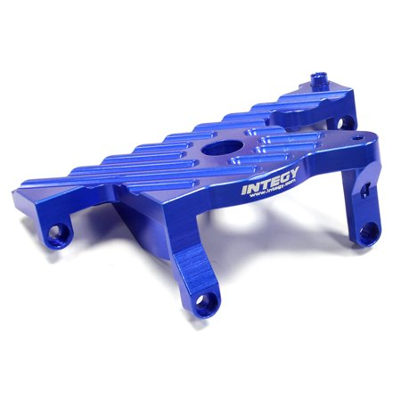 Integy RC Toy Model Hop-ups C25301BLUE Billet Machined Motor Mount for Traxxas Slash 4X4 LCG Chassis