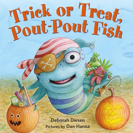 Trick or Treat, Pout-Pout Fish (Board Book)](Hay Day Halloween Fish)