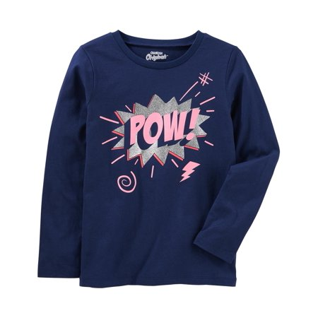 OshKosh B'gosh Little Girls' Originals Graphic Tee, 5 Kids - Oshkosh B Gosh Children's Clothing